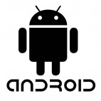 Android robot, decals stickers