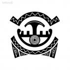 African tatoo, decals stickers