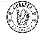 Chelsea football team, decals stickers