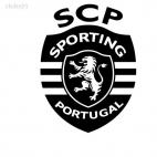 SCP Sporting Portugal football team, decals stickers