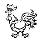 Chicken, decals stickers