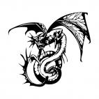 Dragon, decals stickers