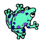 Frog, decals stickers