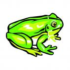 Tree frog, decals stickers