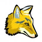 Coyote, decals stickers