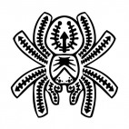 Tarantula , decals stickers