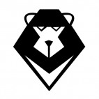 Bear logo, decals stickers