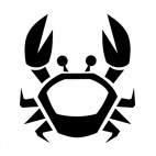 Crab logo, decals stickers
