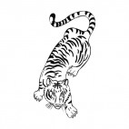 Tiger, decals stickers