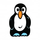 Noble penguin, decals stickers