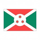 Burundi flag, decals stickers