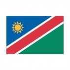 Namibia flag, decals stickers