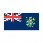Pitcairn Islands flag, decals stickers