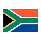 South Africa flag, decals stickers