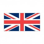 United Kingdom flag, decals stickers
