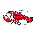 Lobster, decals stickers
