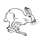 Bunny jumping, decals stickers