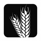 Agriculture symbol, decals stickers