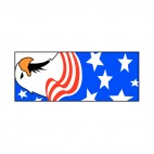 United States Eagle, decals stickers