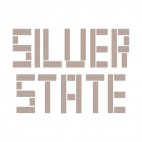 Silver State Nevada state, decals stickers