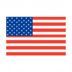 United States  flag, decals stickers