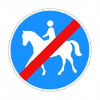 No horse riding allowed sign , decals stickers