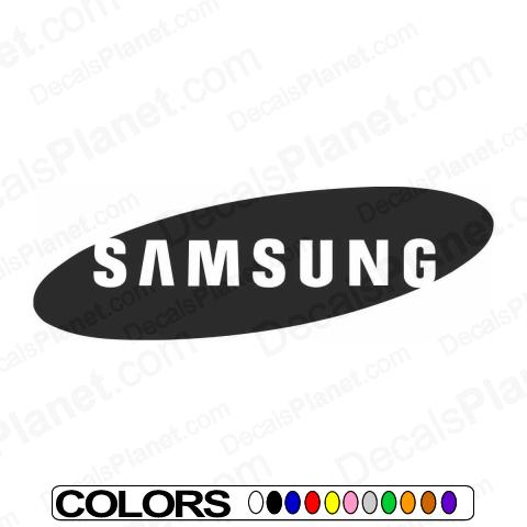 New samsung logo car vinyl decal sticker 5